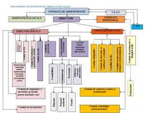 ORGANIGRAMA SCOALA MIRON COSTIN 2013-2014